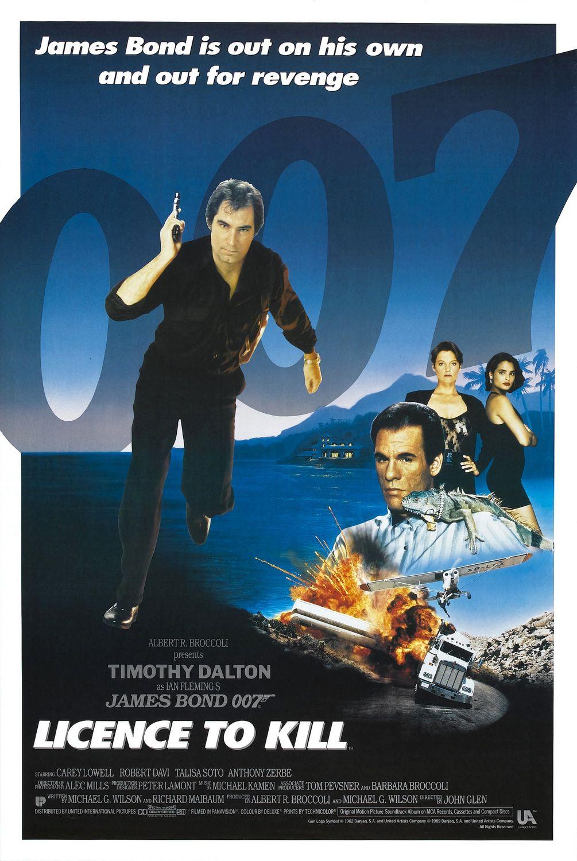 James Bond - Licencja na zabijanie / Licence to Kill