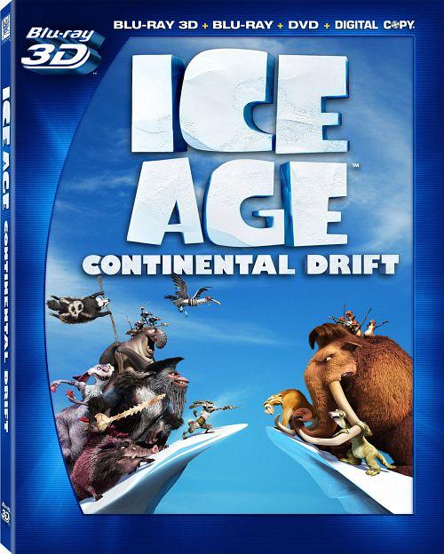 Epoka lodowcowa 4: Wędrówka kontynentów 3D / Ice Age: Continental Drift
