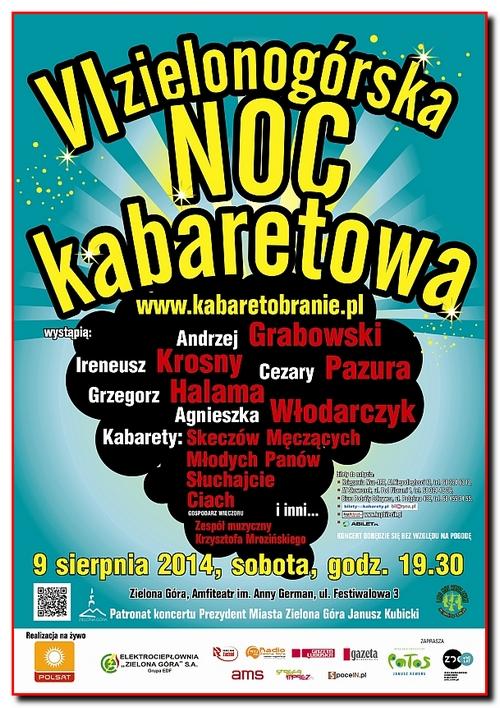 VI Zielonogorska Noc Kabaretowa (2014)