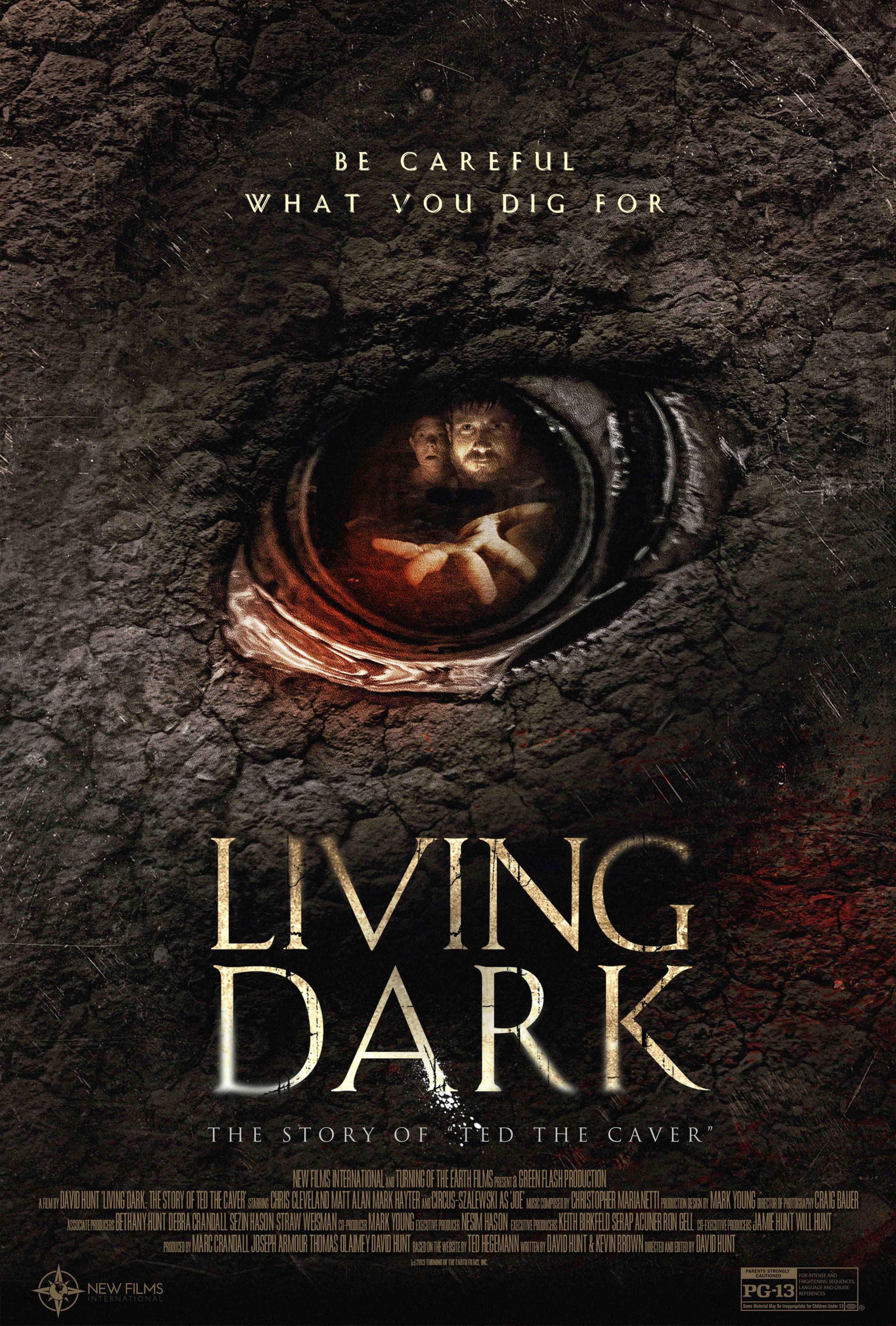 Żywa ciemność: histora Teda Grotołaza / Living Dark: The Story of Ted the Caver