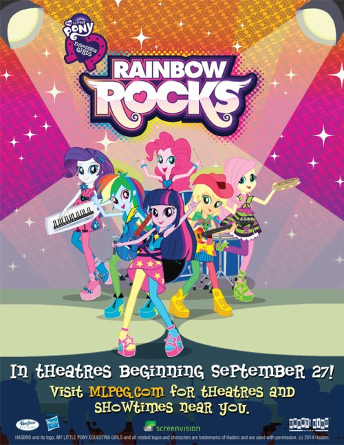 My Little Pony Equestria Girls / Rainbow Rocks