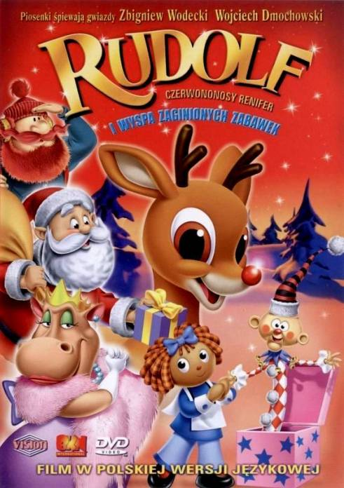 Rudolf czerwononosy renifer i wyspa zaginionych zabawek / Rudolph the Red-Nosed Reindeer & the Island of Misfit Toys