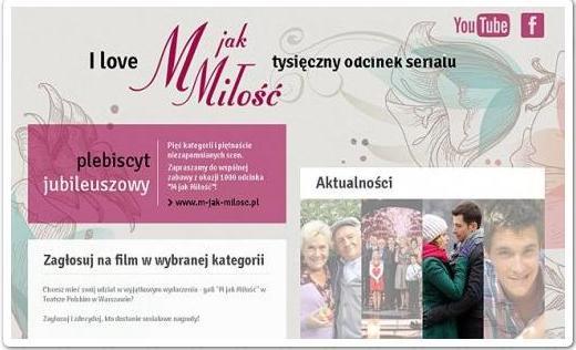 """""""M jak Miłość"""": Uroczysta Gala z Okazji 1000 Odcinka / 2013"""