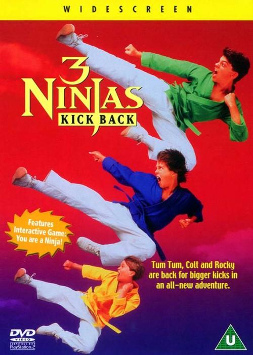 Małolaty ninja wracają / 3 Ninjas Kick Back
