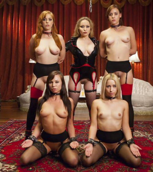 Aiden Starr, Penny Pax, Audrey Holiday, Goldie Rush, Aidra Fox - Sexy Anal Slaves Serve Holiday Orgy
