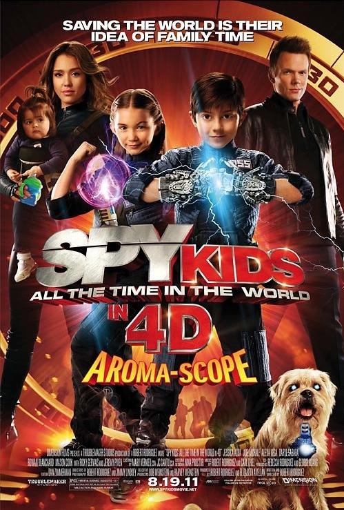 Mali Agenci: Wyścig z czasem / Spy Kids 4: All the Time in the World