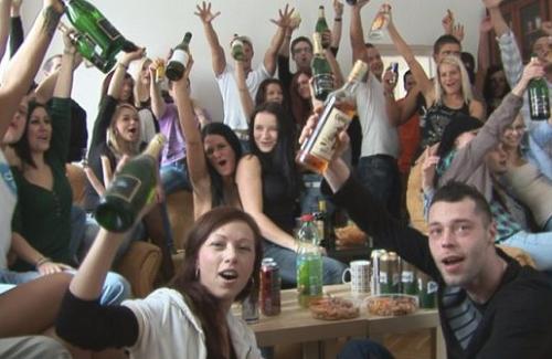 Czech Home Orgy 6 - School Party - Part 1