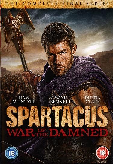 Spartakus: Wojna potępionych / Spartacus war of demand (Sezon 3)