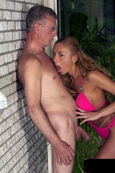 Megan - Teen Try Fuck Old Man