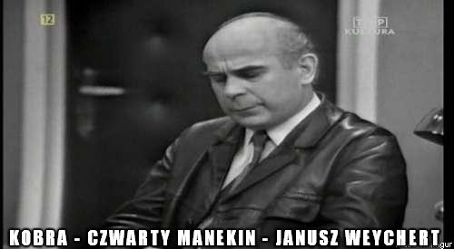 Kobra - Czwarty Manekin - Janusz Weychert