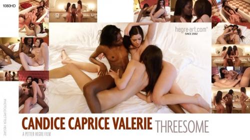 Candice, Caprice & Valerie – Threesome