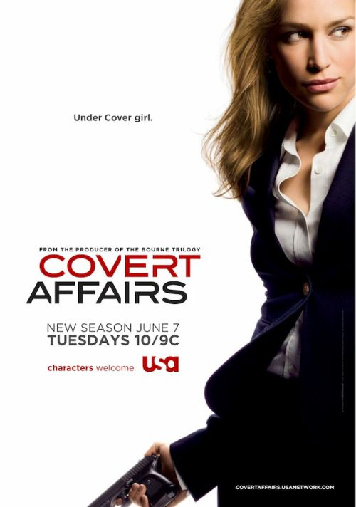 Kamuflaż / Covert Affairs (Sezon: 4)
