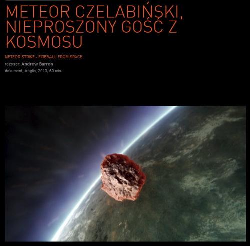 Meteor Czelabiński, Nieproszony Gość z Kosmosu