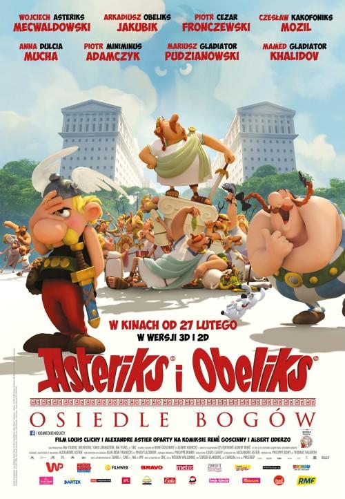 Asteriks i Obeliks: Osiedle Bogów / Astérix:Le domaine  des dieux