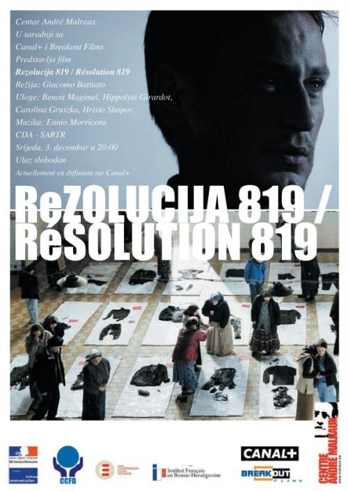 Rezolucja 819 / Resolution 819
