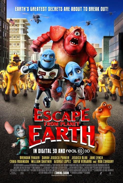 Rodzinka nie z tej Ziemi / Escape from Planet Earth