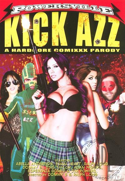 Kick Azz A Hardcore Comixxx Parody
