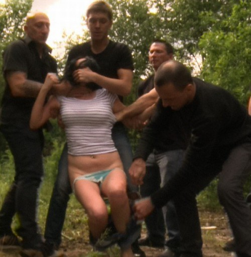 Alina Perry - Hardcore Gang Bang In The Forest