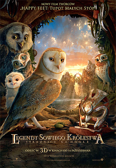 Legendy sowiego królestwa: Strażnicy Ga'Hoole / Legend of the Guardians: The Owls of Ga'Hoole