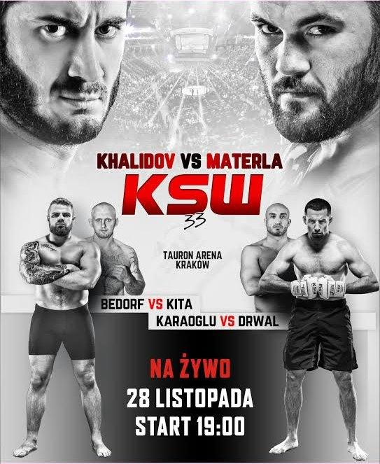 KSW 33 - Cała Gala (2015)