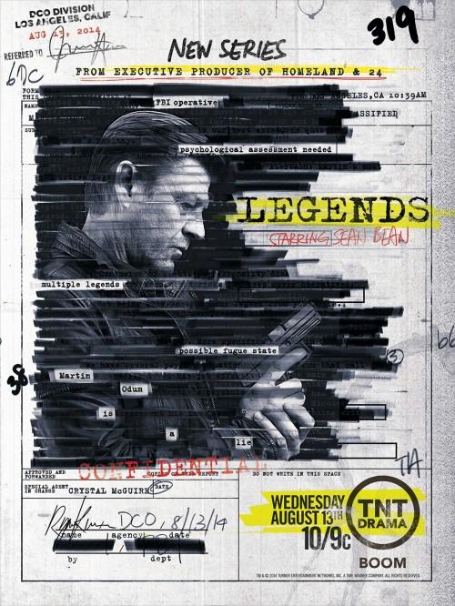 Maski Szpiega / Legends (Sezon 02)