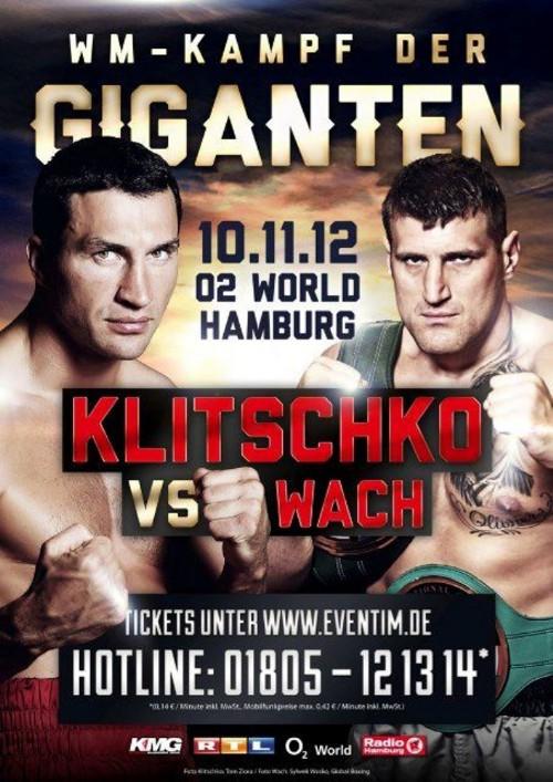 Wladimir Klitschko vs Mariusz Wach