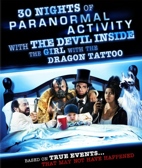 30 Nocy Paranormalnej Aktywności z Opętaną Przez Diabła Dziewczyną z Tatuażem / 30 Nights of Paranormal Activity with the Devil Inside the Girl with the Dragon Tattoo