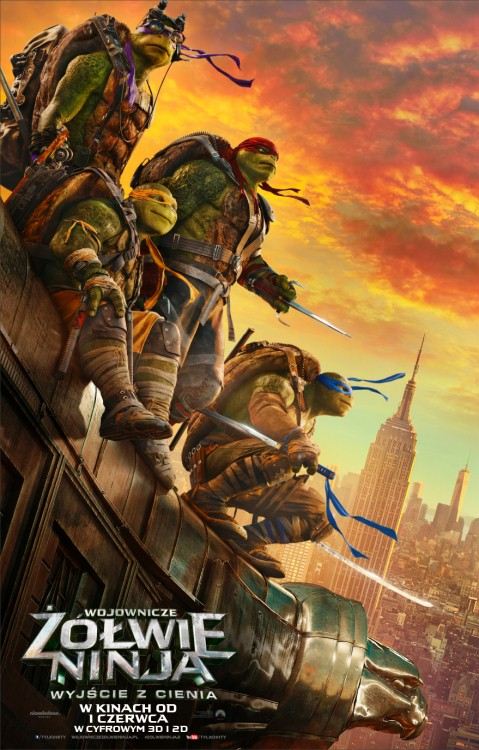 Wojownicze żółwie ninja: Wyjście z cienia / Teenage Mutant Ninja Turtles: Out of the Shadows