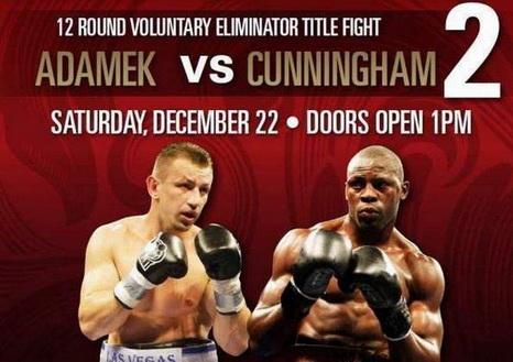 Tomasz Adamek - Steve Cunningham (22.12.2012)