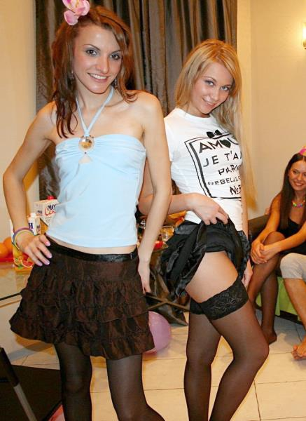 Katarina, Lindsey, Natalie - Sexy College Fuck At B-Day Party Part 2