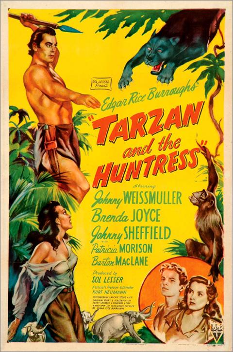 Tarzan i łowcy zwierząt / Tarzan and the Huntress