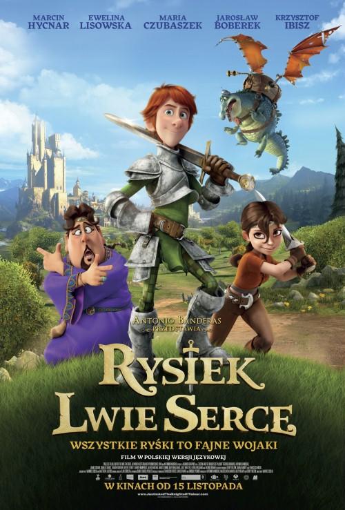 Rysiek Lwie Serce / Justin y la espada del valor