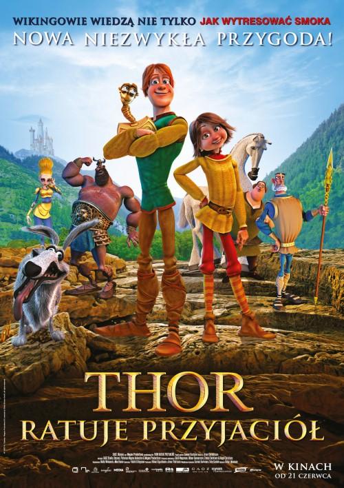 Thor ratuje przyjaciół / Legends of Valhalla: Thor