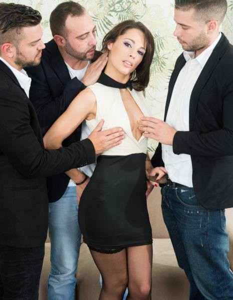 Nikita Bellucci - Gets An Anal Creampie In A POV Gangbang