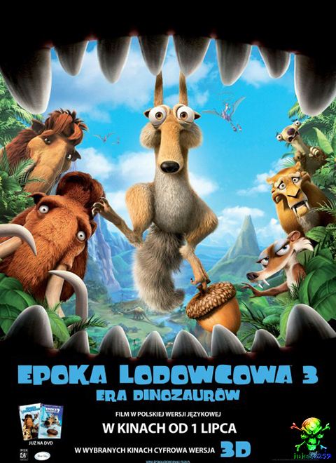 Epoka lodowcowa 3: Era dinozaurów / Ice Age: Dawn of the Dinosaurs