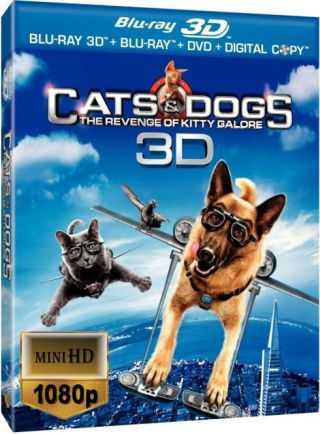 Psy i Koty 2 - Odwet Kitty / Cats & Dogs: The Revenge of Kitty Galor