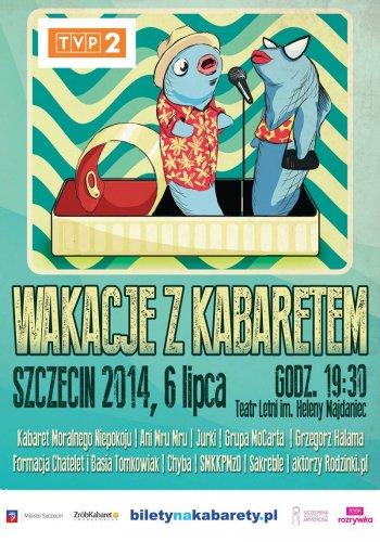 Wakacje z Kabaretem - Szczecin (2014)