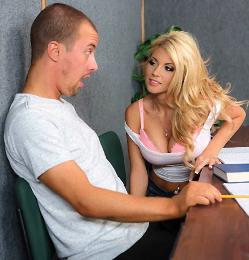 Big Tits at School - Kayla Kayden, Jessy Jones - Back Of The Classroom