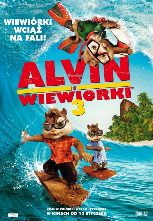 Alvin i Wiewiórki 3 / Alvin and the Chipmunks Chipwrecked