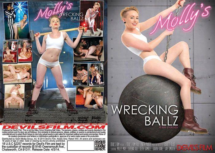 Molly's Wrecking Ballz: A XXX Parody