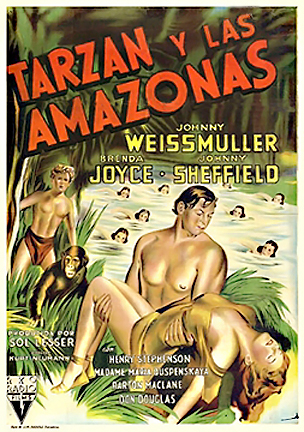 Tarzan i Amazonki / Tarzan and the Amazons
