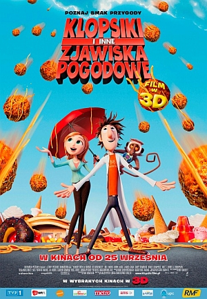 Klopsiki i inne zjawiska pogodowe / Cloudy With A Chance Of Meatballs