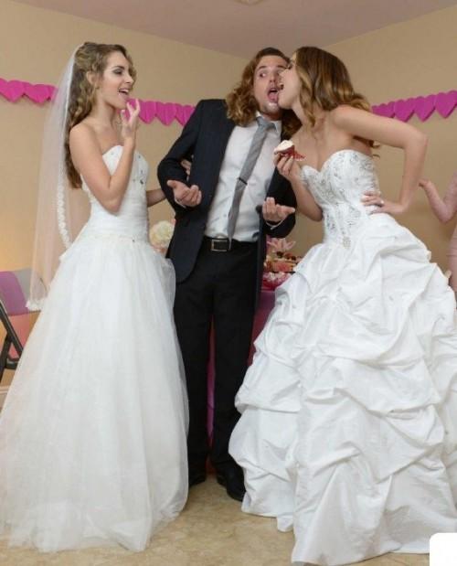 Dillion Harper, Kimmy Granger - Fuck With Two Bride