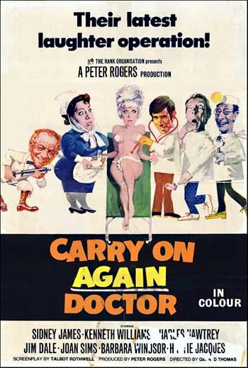 Cała Naprzód: Doktorku, Jeszcze Raz do Dzieła! / Carry On Again Doctor