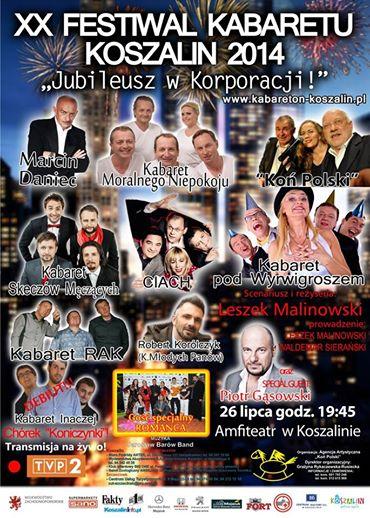 20 Festiwal Kabaretu w Koszalinie