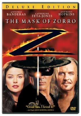 Maska Zorro / The Mask of Zorro