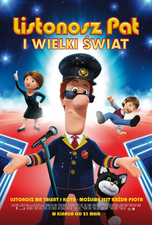 Listonosz Pat i Wielki Świat / Postman Pat The Movie