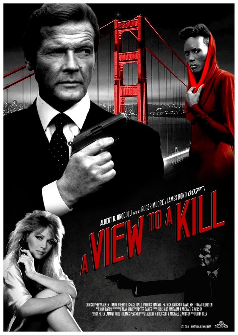 James bond - Zabójczy widok / View to a Kill, A