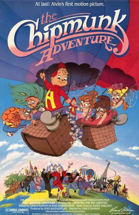 Przygody Chipmanków / The Chipmunk Adventure
