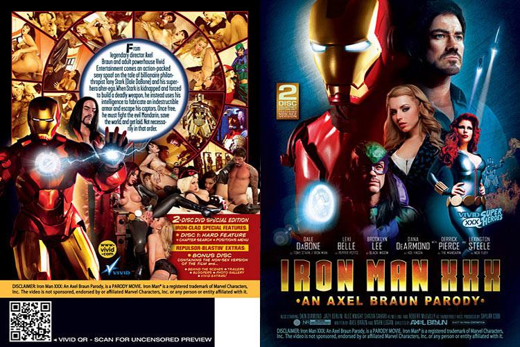 Iron Man XXX Parody